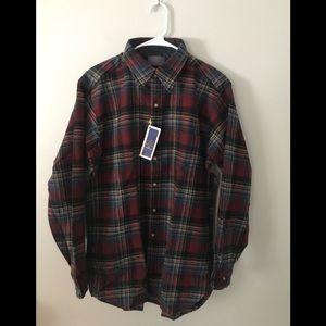 Pendleton Men's Shirt Virgin Wool L